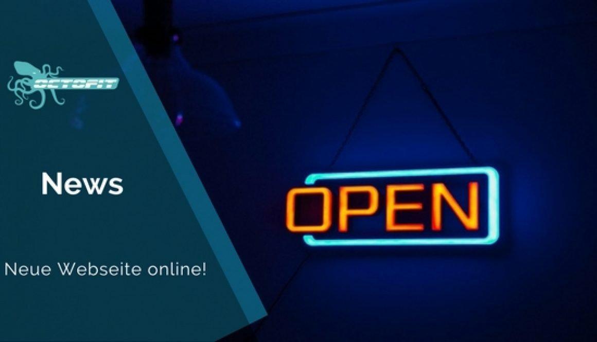 Octofit neue Webseite