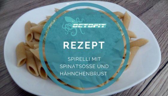 Spirelli mit Spinatsoße - Octofit